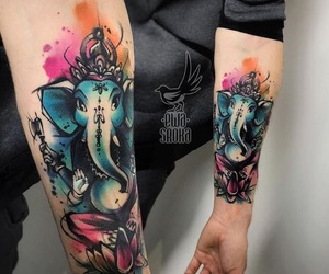 arm, tattoo, and awesome image