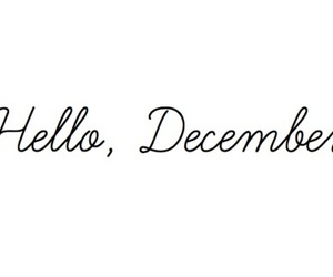 december, hello, and christmas image