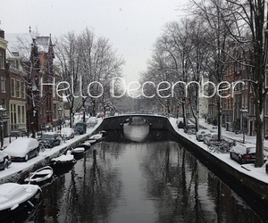 amsterdam, december, and winter image