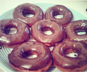 chocolate, donuts, and yummy image