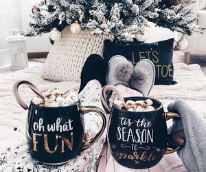 christmas, winter, and cozy image