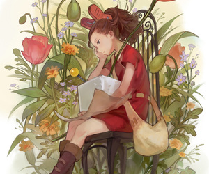 anime, studio ghibli, and arrietty image