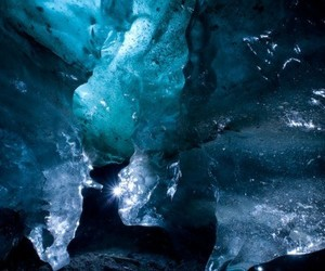 blue, glacier, and ice image