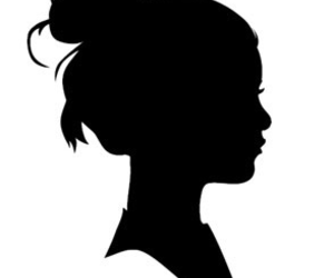 girl and silhouette image