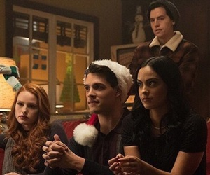 cole sprouse, riverdale, and veronica lodge image