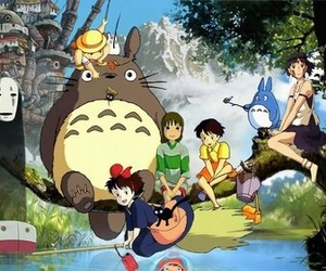 anime and totoro image