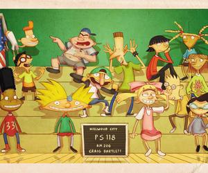 cartoon, fanart, and hey arnold image
