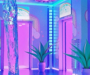 aesthetic, cyber, and pink image