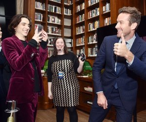 timothee chalamet and armie hammer image