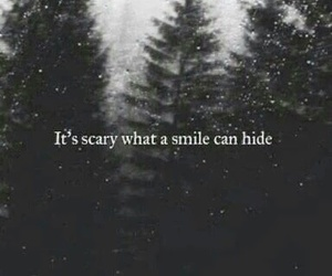 smile, quotes, and scary image