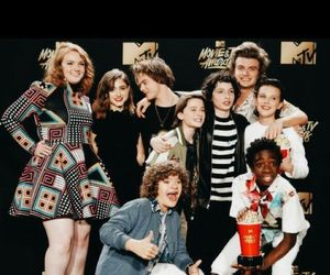 stranger things, millie bobby brown, and charlie heaton image