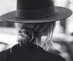 fashion, hat, and hair image