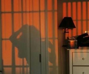 orange, aesthetic, and shadow image