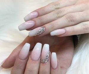 nail art, nails, and coffin shape image