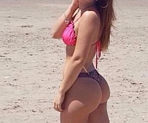 girl beach summer beach image
