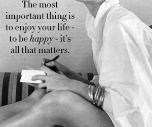 quotes, life, and audrey hepburn image