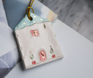 gift wrapping, style home, and christmas home decor image