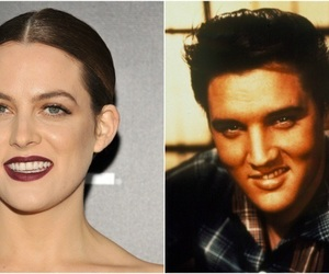 riley keough and Elvis Presley image