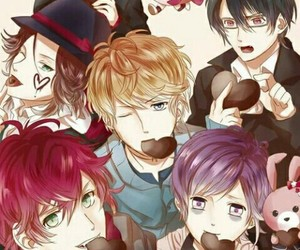 Valentine's Day and diabolik lovers image