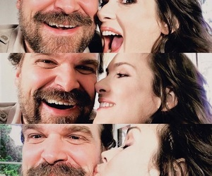 stranger things, winona ryder, and david harbour image