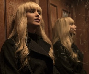 Jennifer Lawrence and red sparrow image
