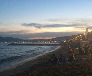 beach, cannes, and memory image