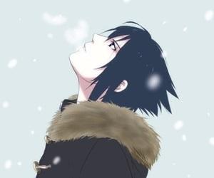 sasuke, naruto, and sasuke uchiha image