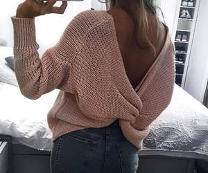 girl, jeans, and style image