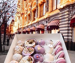 food, sweet, and lights image
