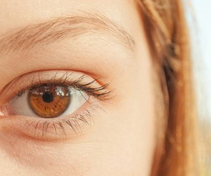 blonde, beauty, and eye image