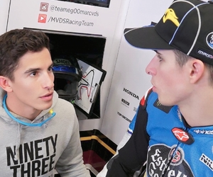 SIBLING, spanish, and marc marquez image