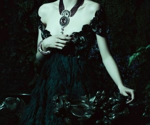 black, dress, and goth image