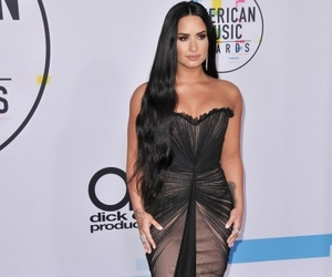 demi lovato, fashioon, and gown image