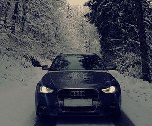 audi, slovenia, and snow image