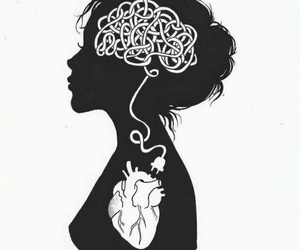 heart, brain, and art image