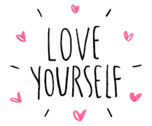 gif and love yourself image