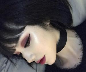 black, girl, and makeup image