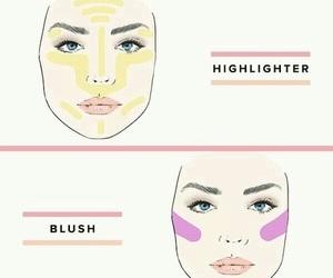 contour, make up, and bronzer image