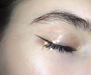 bling, brow, and eye image