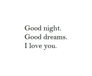 night, Dream, and love image