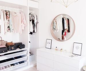 room and clothes image