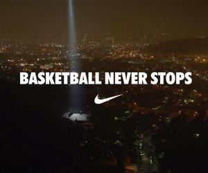 Basketball, nike, and never image