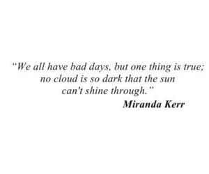 quotes, miranda kerr, and sun image