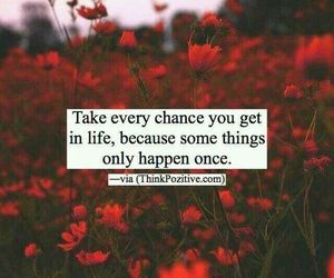 chances, life, and no regrets image