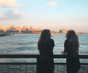 best friends, Brooklyn, and city image