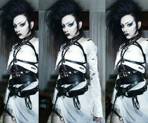 80's, dark, and deathrock image
