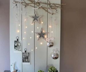christmas, lights, and decoration image