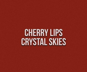 quotes, red, and cherry image