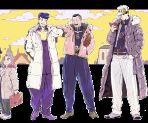 anime, josuke, and jotaro image