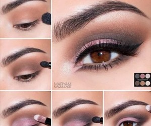 make-up, makeup, and beauty image